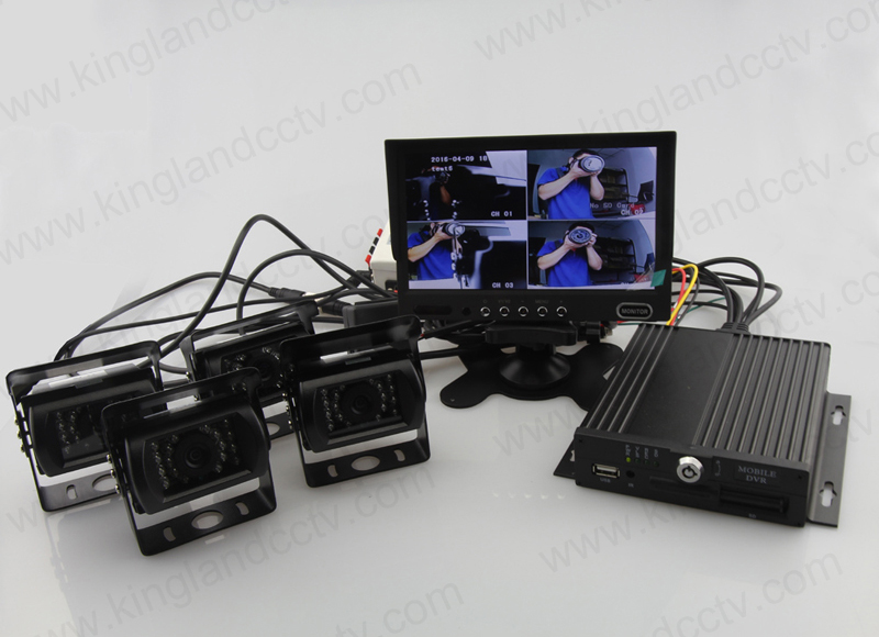 Mini Side CCD Camera with 9-36V
