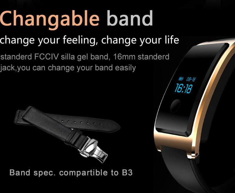Smart Phone Watch Waterproof Built -in USB Wechat Interconnection Heart Rate Monitor The Bluetooth Sleep Monitoring Super - Long Standy