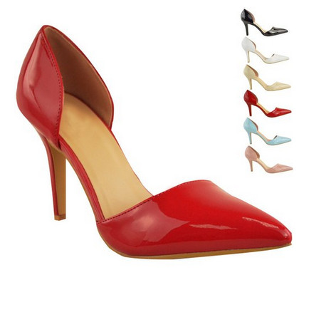 Pop Classical Fashion High Heel Lady Dress Shoes (S19)