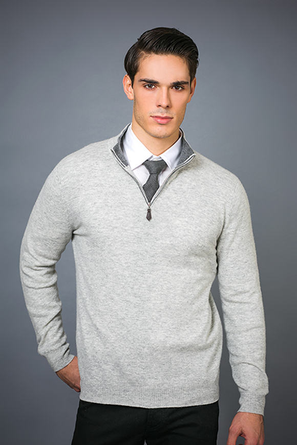 Men's Fashion Cashmere Blend Sweater 17brpv127