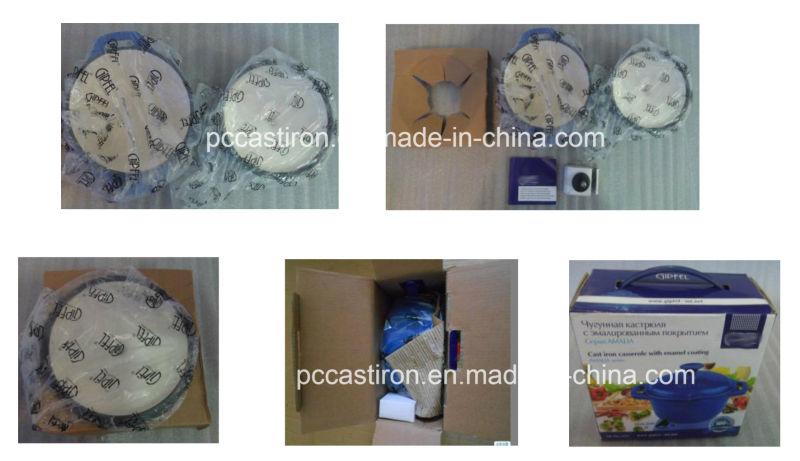 Enamel Cast Iron Fish Pan Manufacturer From China