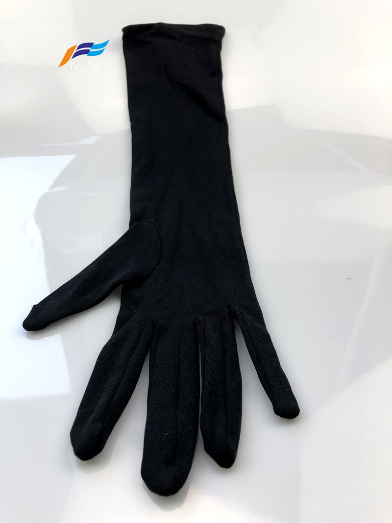 Cheap Price 100% Polyester Muslim Sleeves Islamic Gloves 3