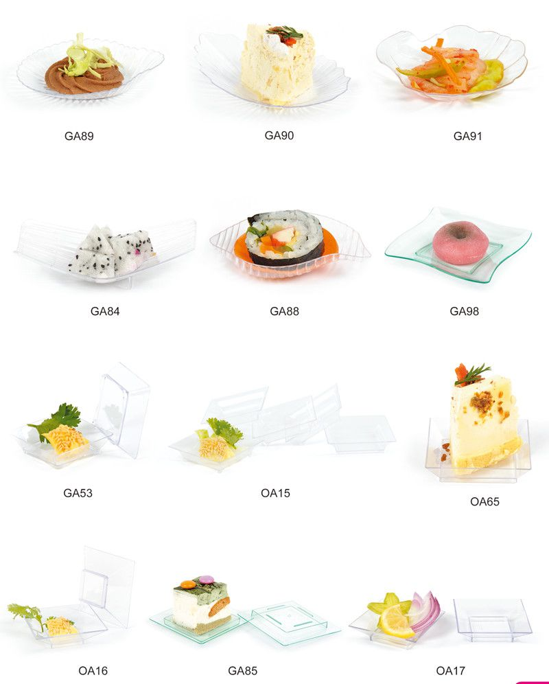 Tableware Plastic Disk Disposable Saucer Filter Bowl