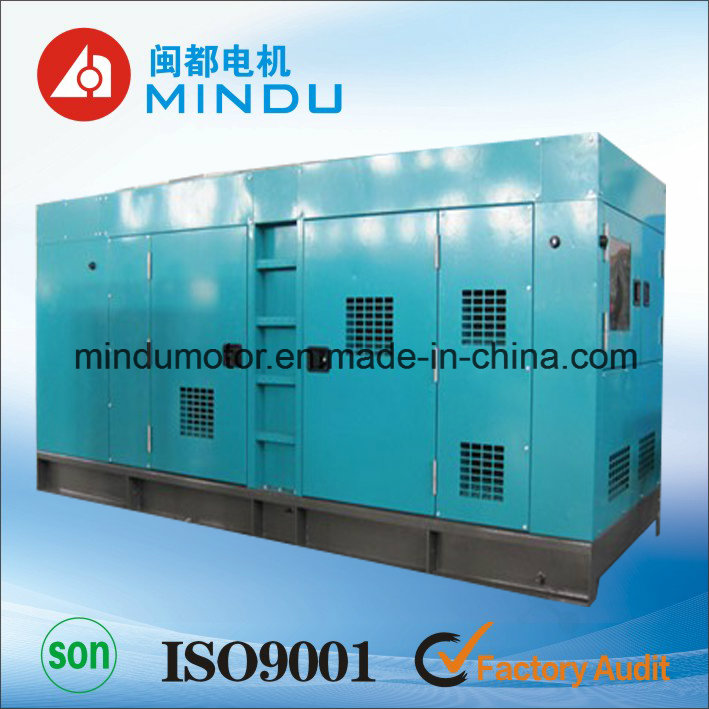 Emergency Power 160kw Weichai Silent Diesel Generator
