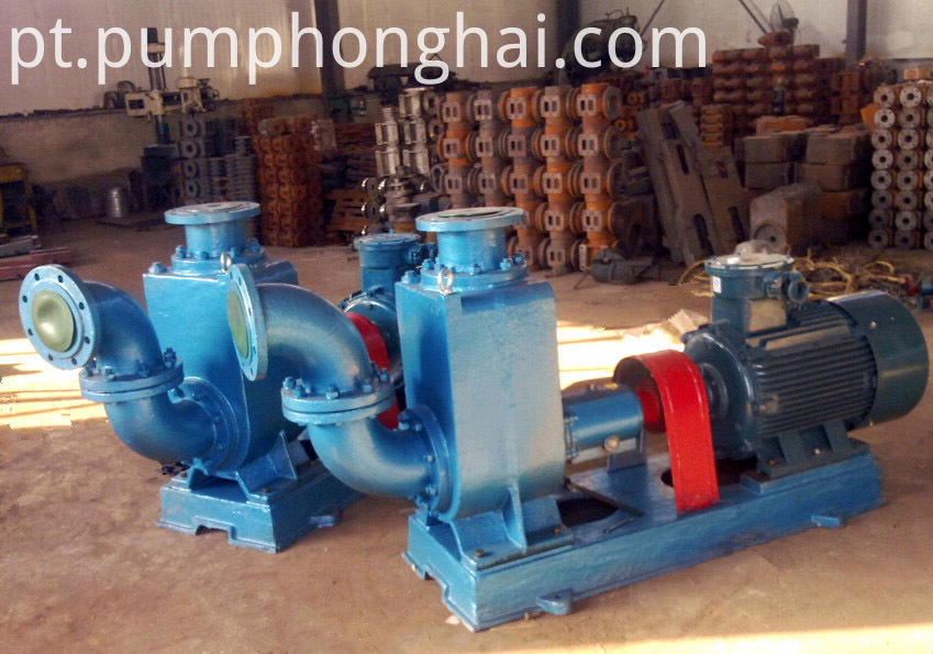 centrifugal pumps driven by electric motor
