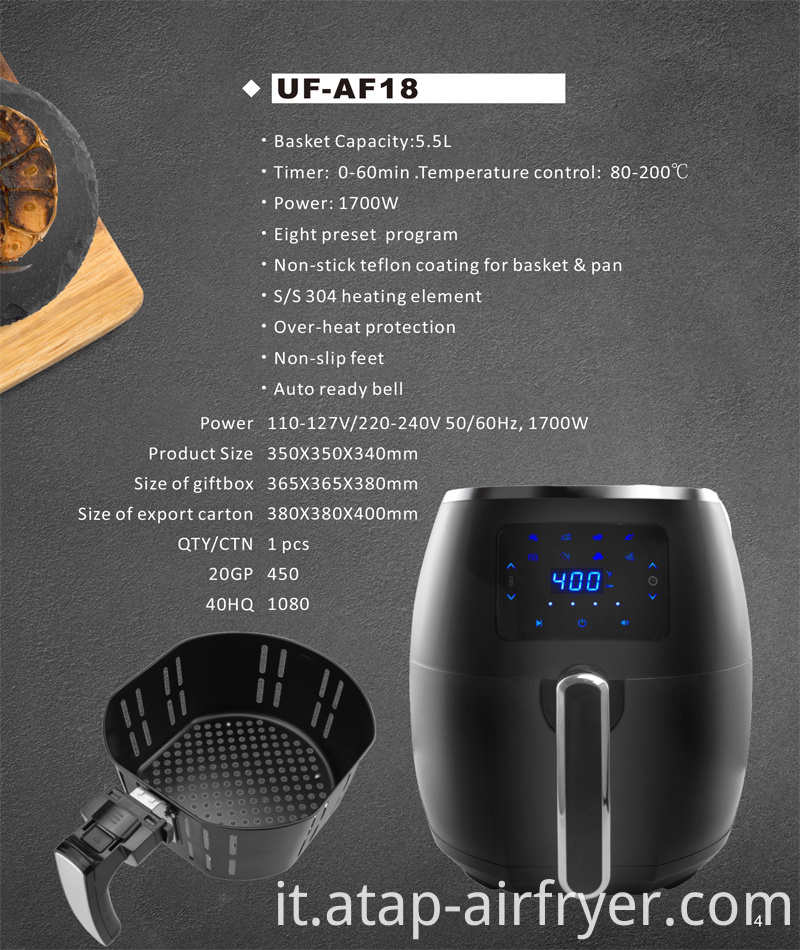 Deep Electric Air Fryer