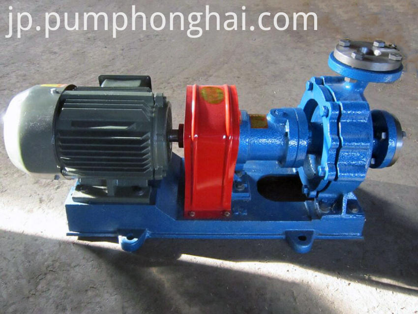 Cast steeel material pump with air-cooled equipment