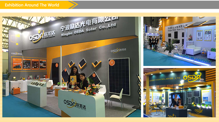 140W Poly Solar Panel for Global Market