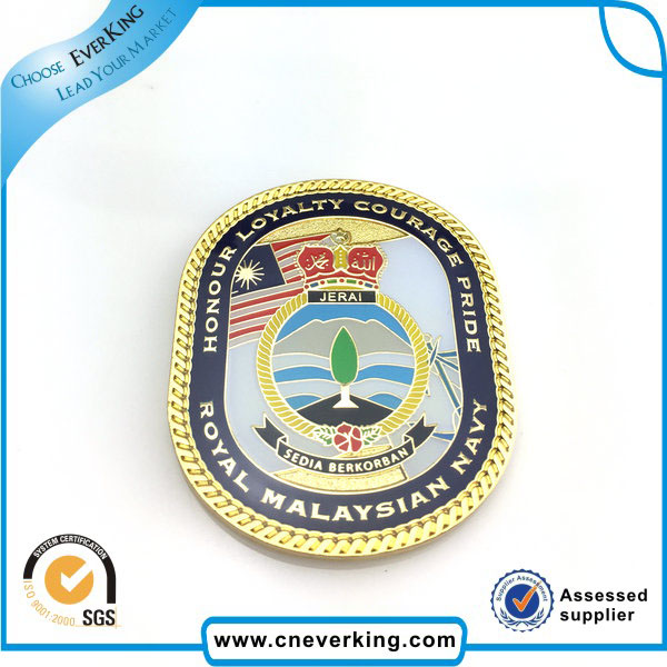 Factory Custom Challenge Coin with Enamel Color
