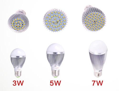7W LED Bulb with CE RoHS (GN-HP-2835CW7W-G60-E27-SA)