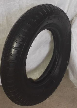 High Contain Natural Rubber Tire with Tube