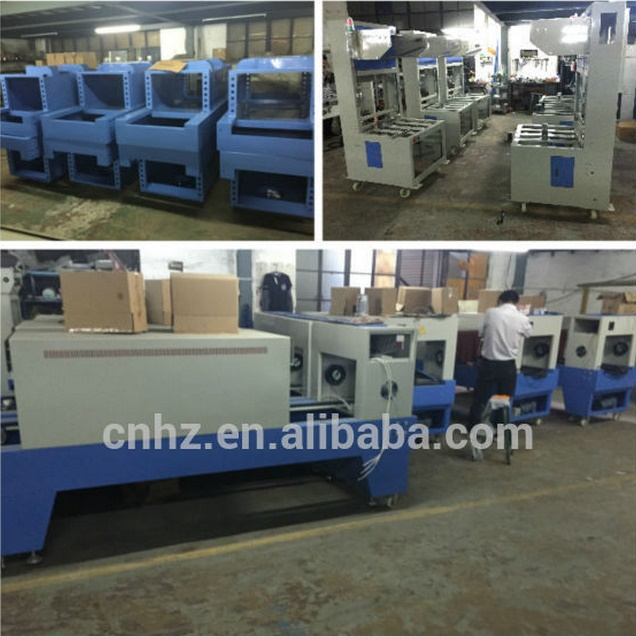 St6030 New Condition PE Film Pet Bottle Shrink Wrapping Machine with 220V