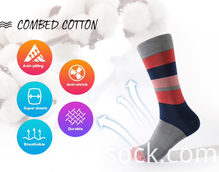 High Quality Cotton Dress Socks
