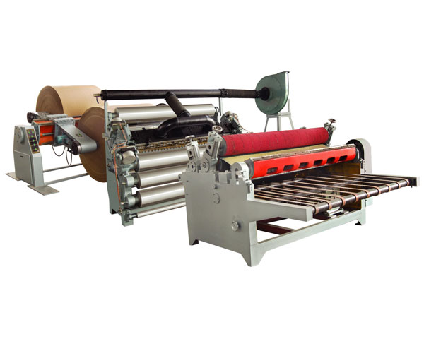 Absorption Single Facer Corrugated Cardboad Production Line