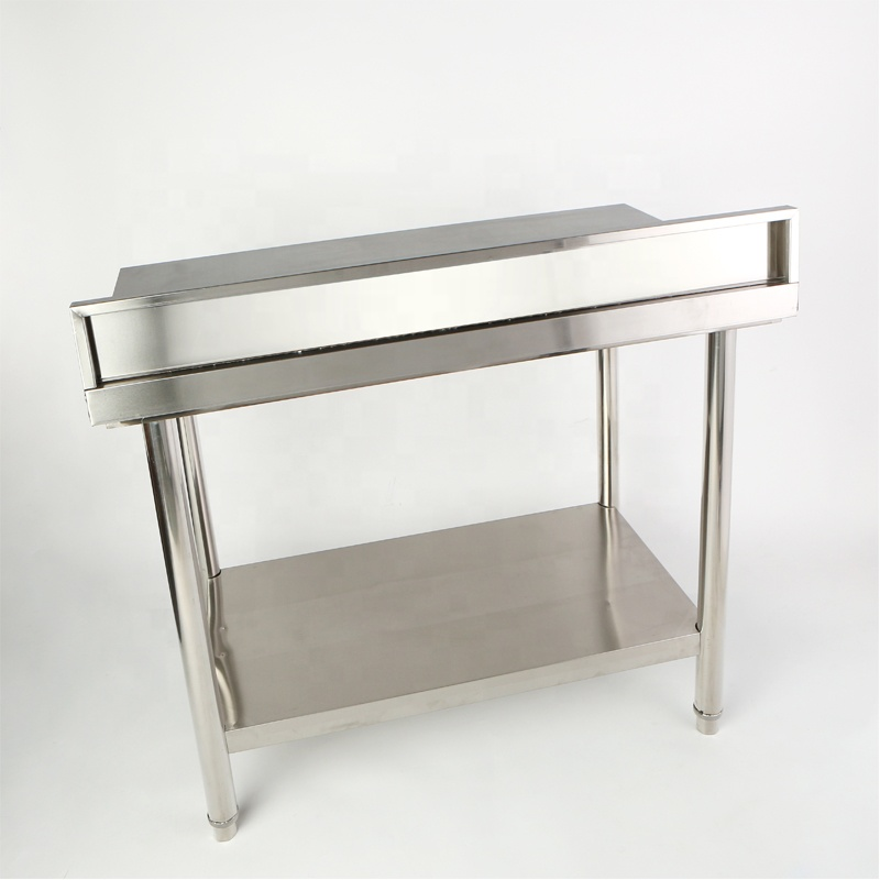 Full 304 Stainless Steel Commercial Kitchen Work Table