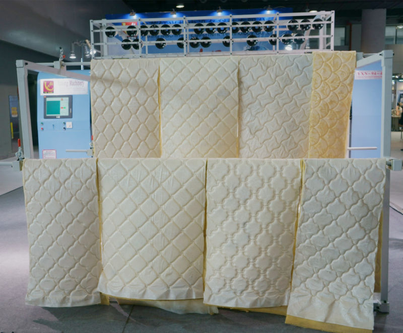 2016 High Speed Computerized Multi-Needle Mattress Quilting Machine with Ce Approved