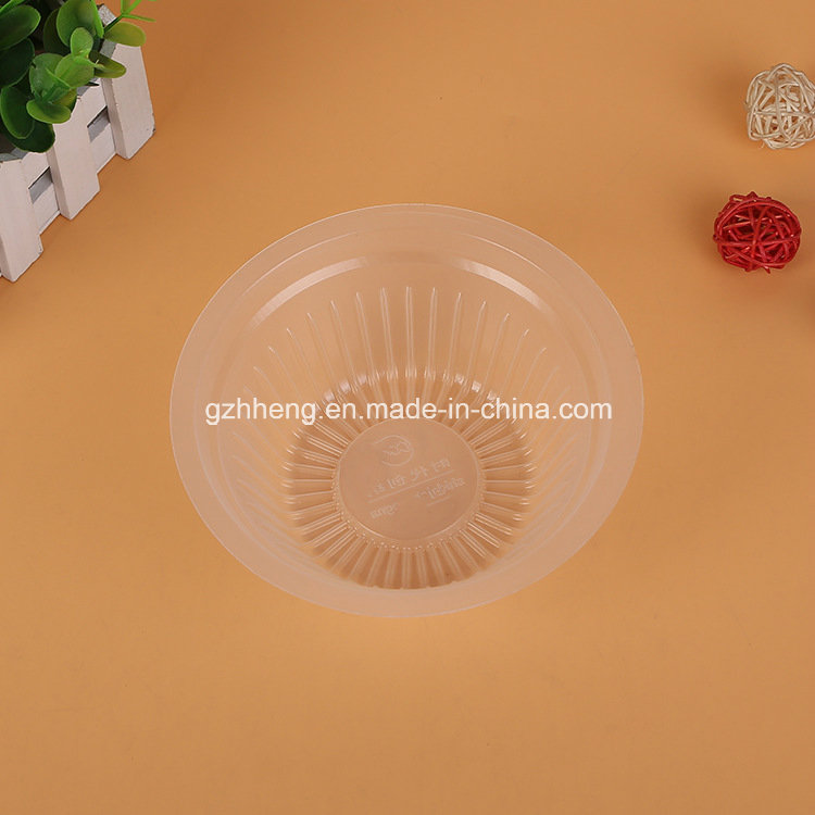 Chinese Factory OEM Clear Plastic Food Container (PP 011)