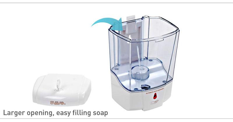 Sensor Touchless Hand Washing Soap Dispenser 600ml V-410