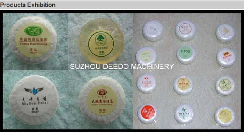 Automatic Round Hotel Soap Packing Machine