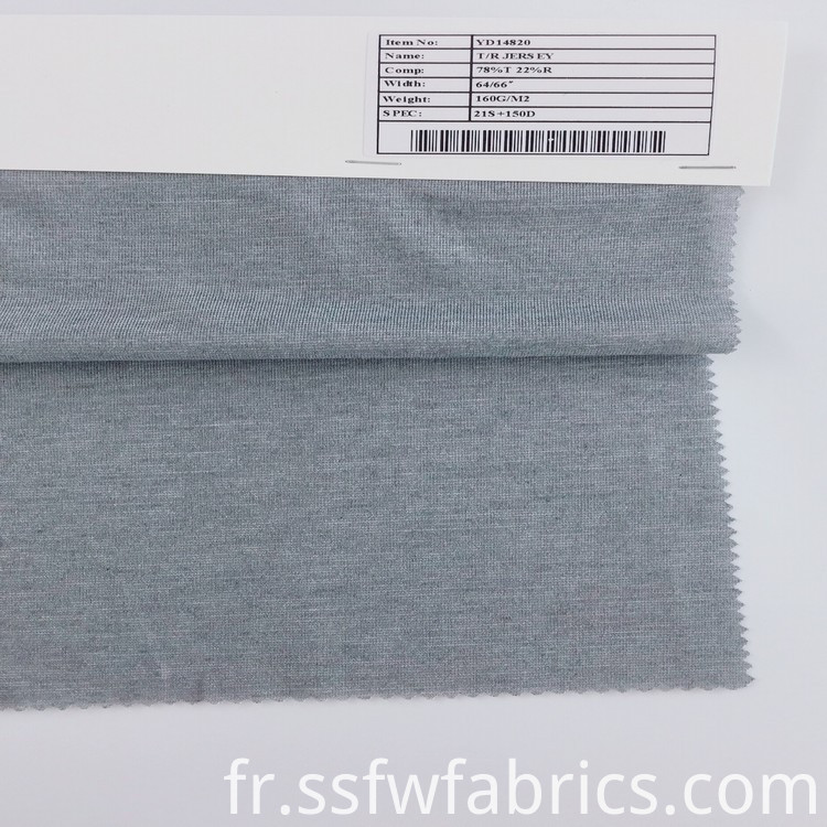 The Most Popular Jersey Knit Fabric
