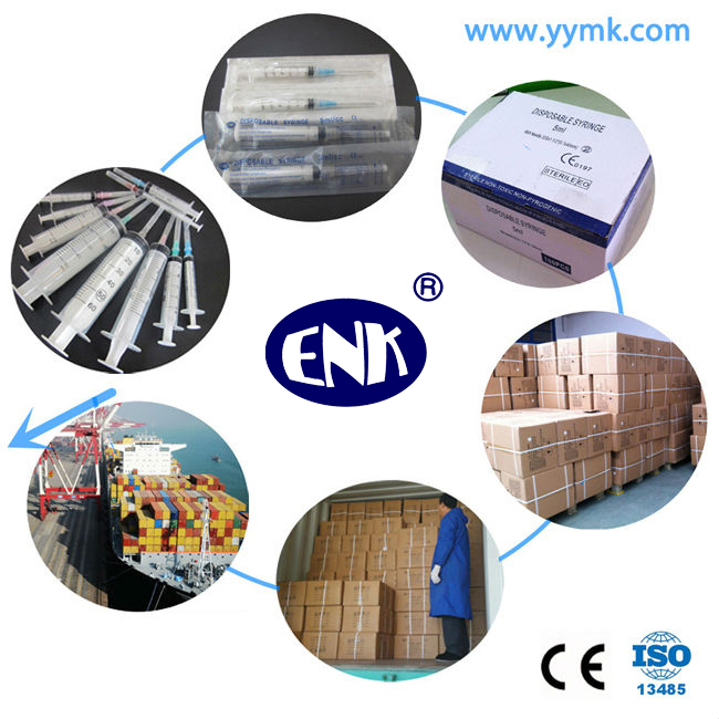 Disposable Sterile Syringe with Needle 5cc (ENK-DS-050)
