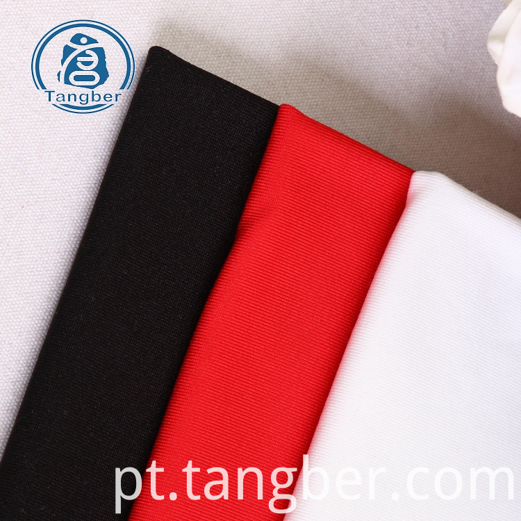 polyester spandex plain fabric