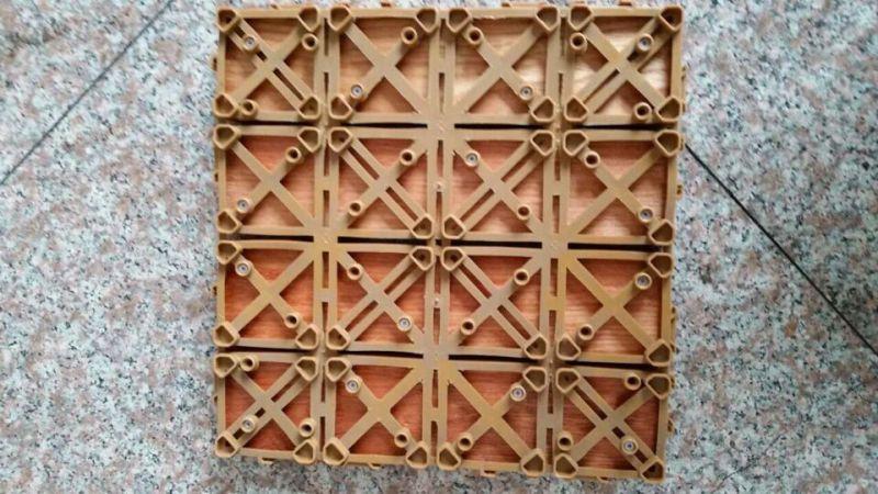 Cumaru Outdoor Wood Decking Tiles