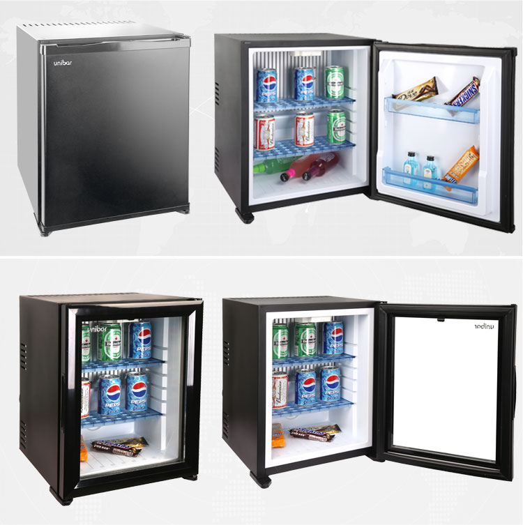 Hotel Mini Fridge with Glass Door