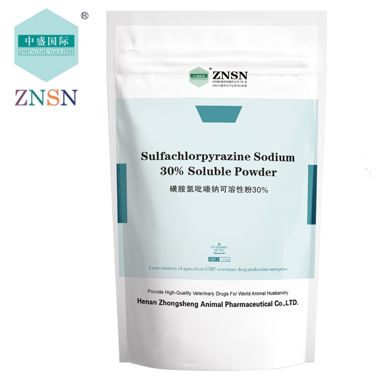 Sulfachloropyrazine Sodium 10% 20% 30% Soluble Powder