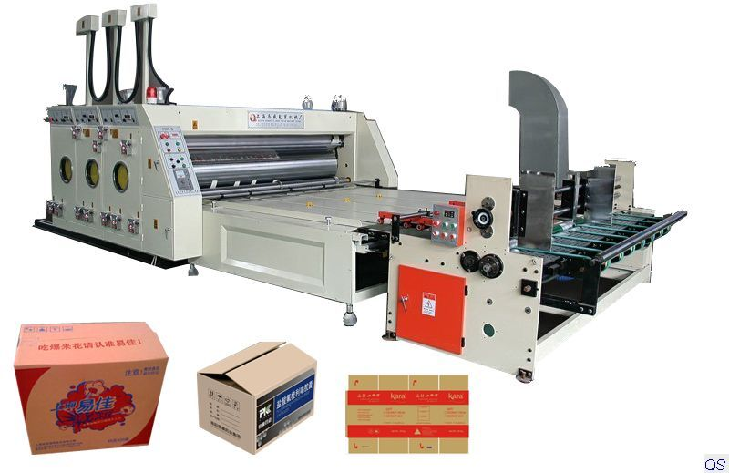 Automatic Flexo Printing and Slotting Machine