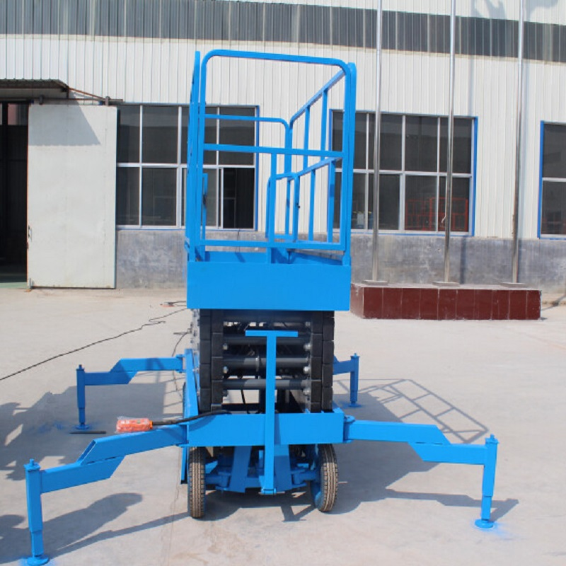 Trailing Hydraulic Scissor Lift Platform