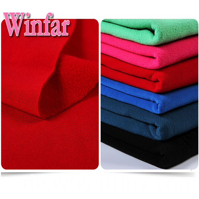 One Side Brushed Polar Fleece Fabric
