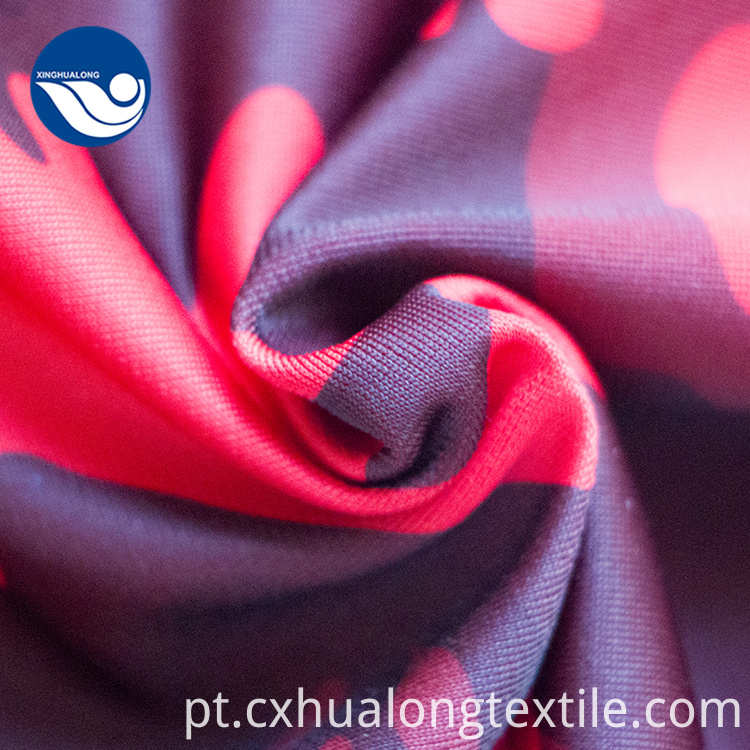 printed coral fleece brush fabric