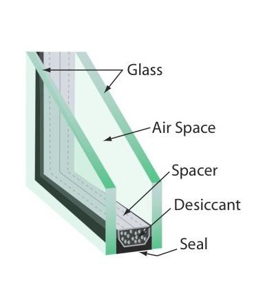 Double Glazing Aluminum Top Hung Windows with Australian Standard
