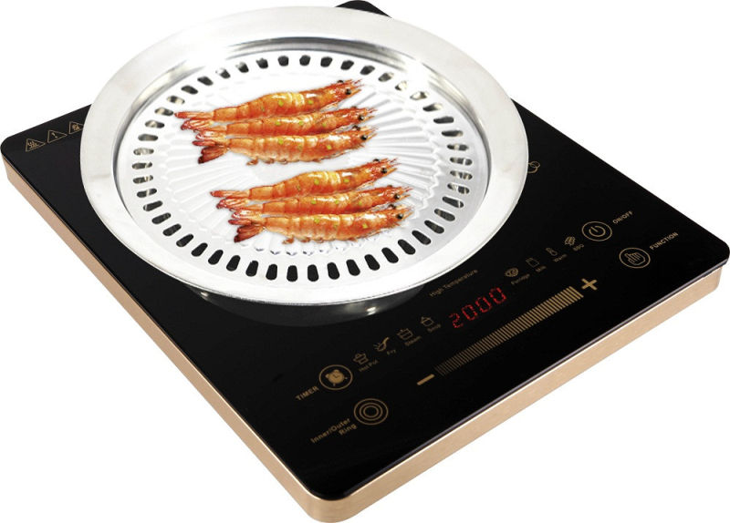 2017 Spain, UK, Germany Italy Market Europe Ce CB EMC Cheap Price Sensor Touch 2000W Ailipu Brand Electric Infrared Cooker