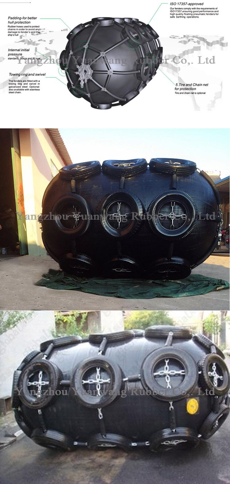 Ship Equipment Anti-Aging Rubber Pneumatic Yokohama Marine Fender