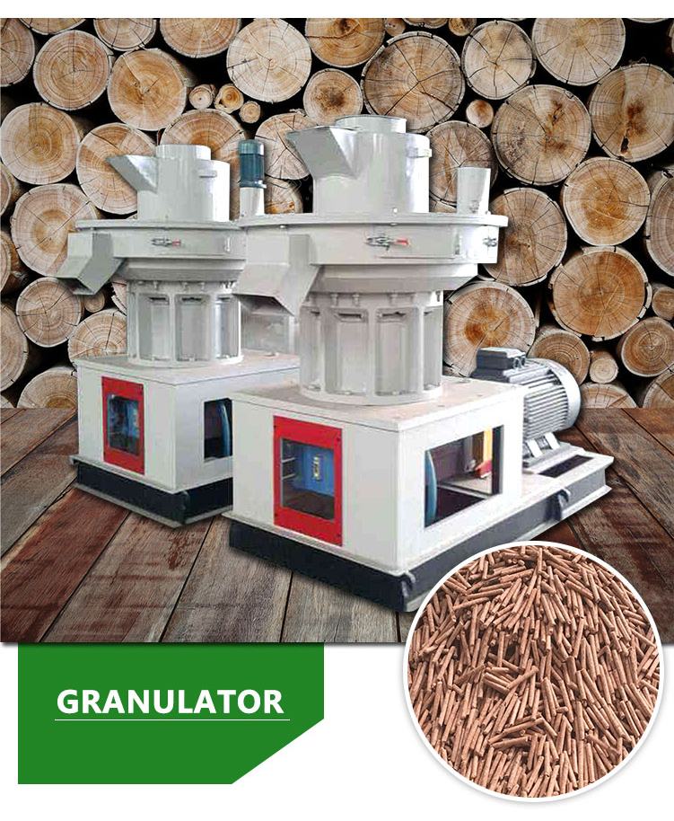 Miscellaneous wood granulator