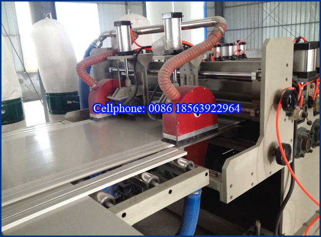 Plastic Machine for PVC Foamed Board Production Extrusion Line