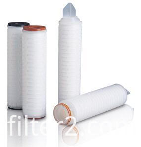PP Pleated Water Filter Cartridge