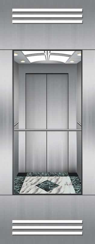Mrl Observation Elevator Running Stable OEM Provided Without Machine Room