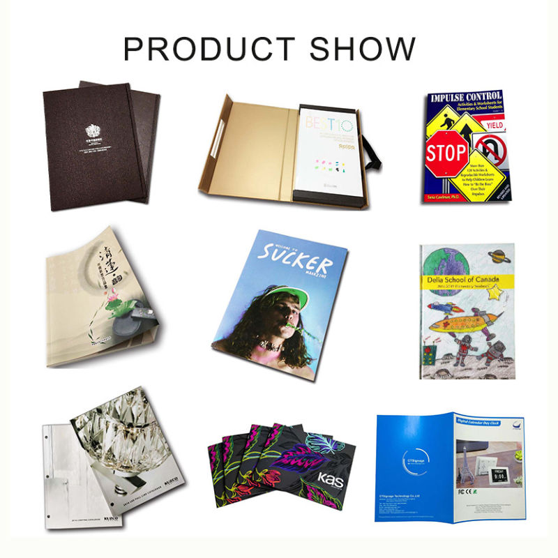 High Quality PU Leather Hardcover Notebook Printing