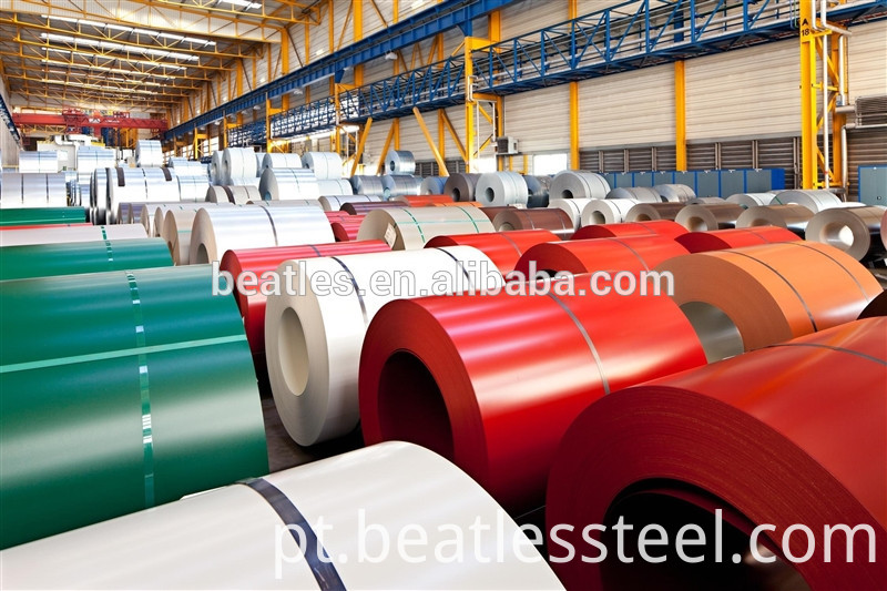Latest color coated steel coil