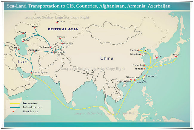 Reliable Container Shipping Cost Company From China to Cis Countries (Turkmenistan/Uzbekistan/Azerbaijan/Armenia/Afghanistan)