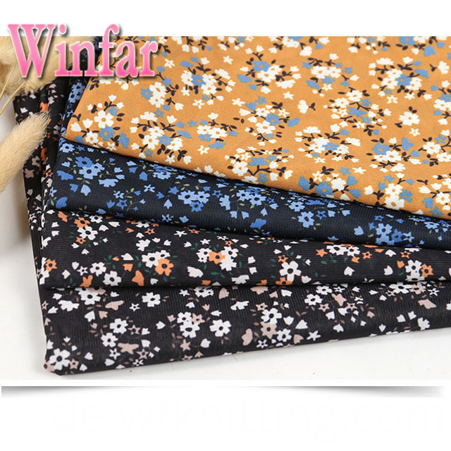 Polyester DTY Knitting Fabric
