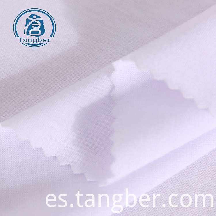 plain spun polyester fabric