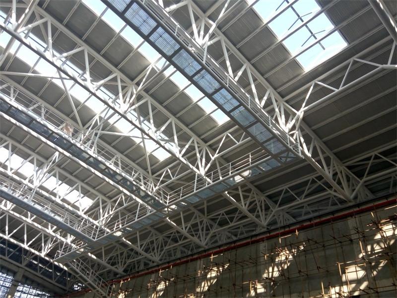 Easy Installation Space Frame Indoor Gym Bleachers