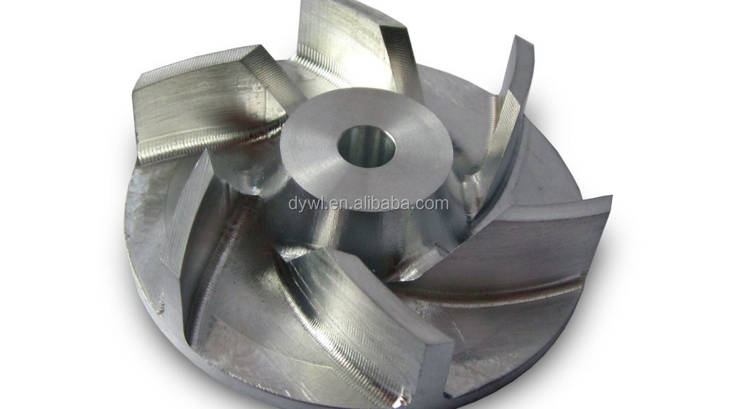 pump impellers stainless steel casting machine