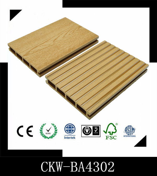 Wholesale High Quality Impact-Resistant Cheap WPC Composite Decking 146*24