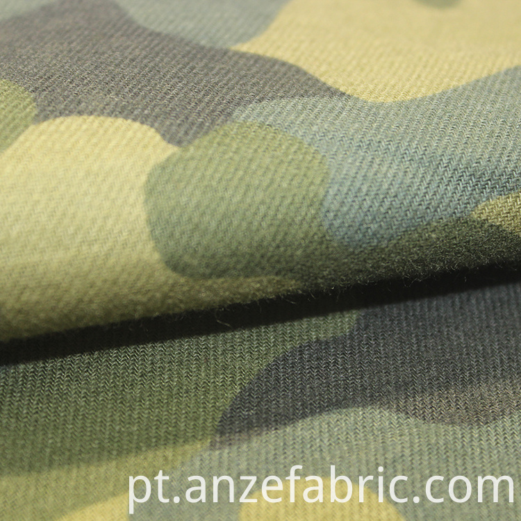 High quality printed flannel fabric
