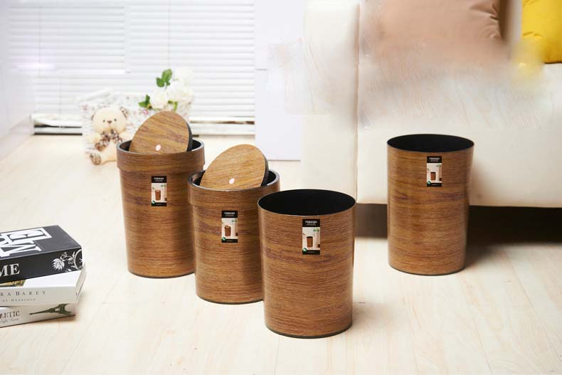 China Supplier Round High Quality Waste Container